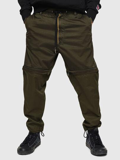 Diesel - P-CASHORT, Vert Militaire - Pantalons - Image 1