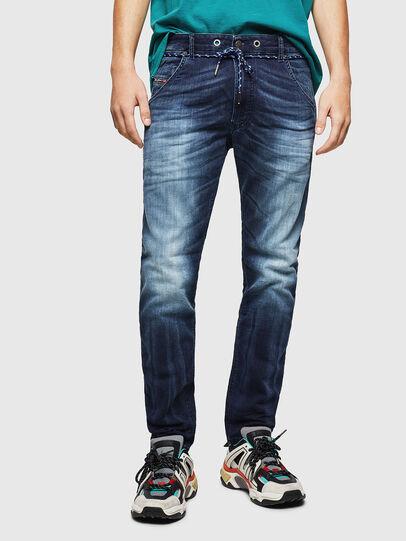 Diesel - Krooley JoggJeans 069IE, Dark Blue - Jeans - Image 1