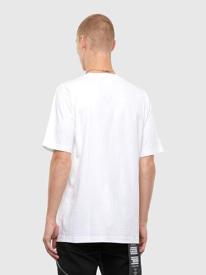 Diesel - T-TUBOLAR-N4, Blanc - T-Shirts - Image 2