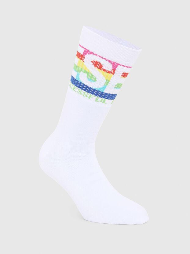 SKM-RAY, White - Socks