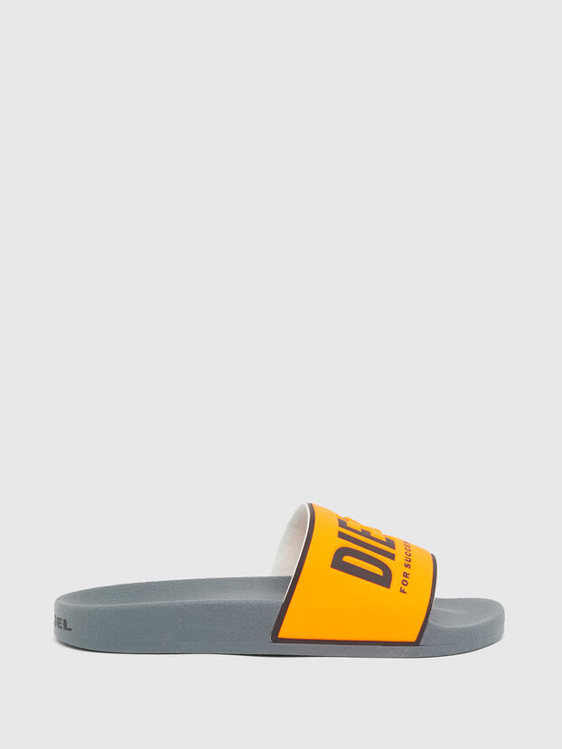 SA-VALLA, Black/Orange - Slippers