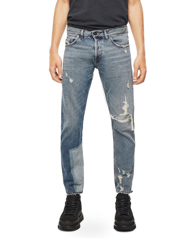 TYPE-2813, Jean Bleu - Jeans