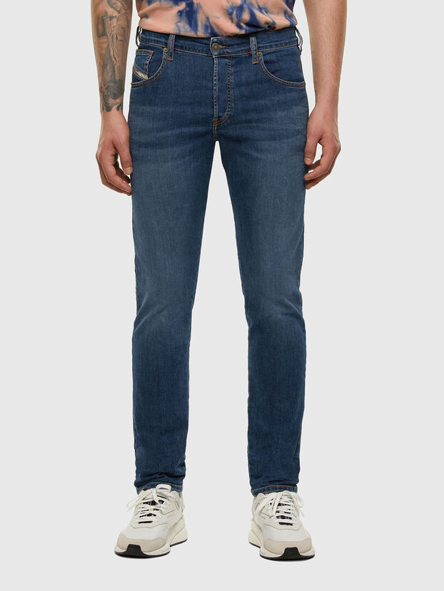 D-Yennox 009DG, Bleu moyen - Jeans