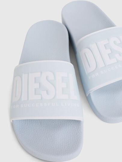 Diesel - SA-VALLA W, Light Blue - Slippers - Image 4