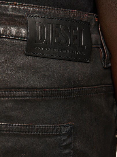 Diesel - FAYZA JoggJeans® 069PG, Noir/Orange - Jeans - Image 4