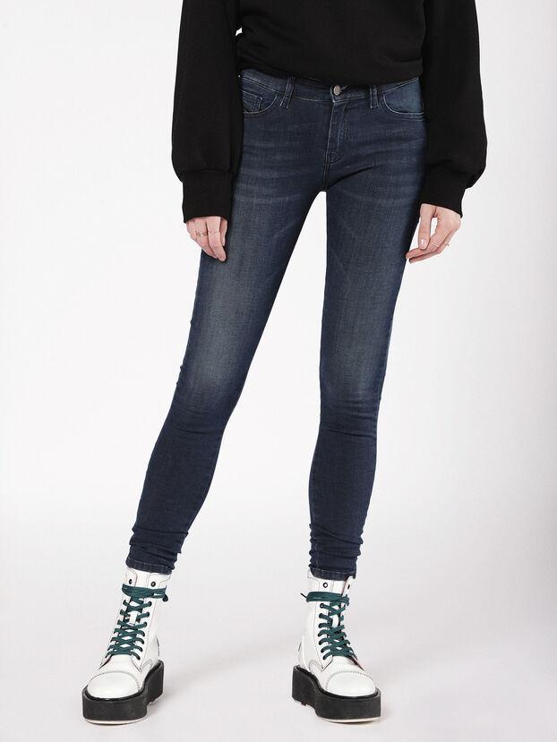 Slandy 0681G, Bleu Foncé - Jeans