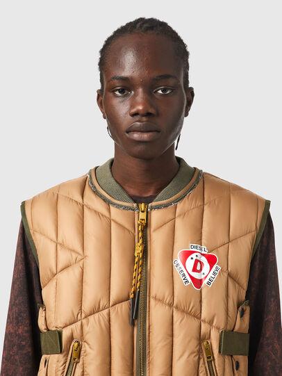 Diesel - J-HAWLEY, Light Brown - Jackets - Image 3