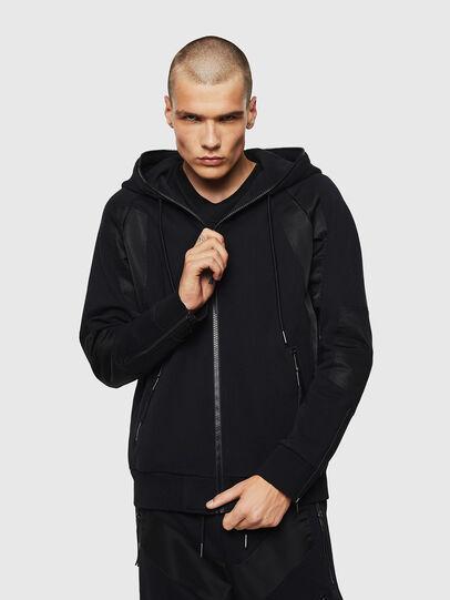 Diesel - S-IVAN, Black - Sweatshirts - Image 1