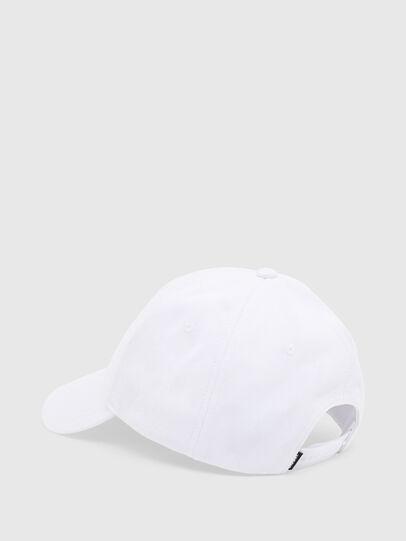 Diesel - CAP-CUTY, Blanc - Chapeaux - Image 2