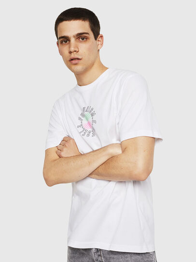 Diesel - T-JUST-Y19, White - T-Shirts - Image 4