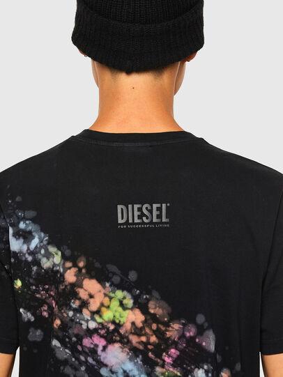 Diesel - T-JUST-A40, Noir - T-Shirts - Image 4