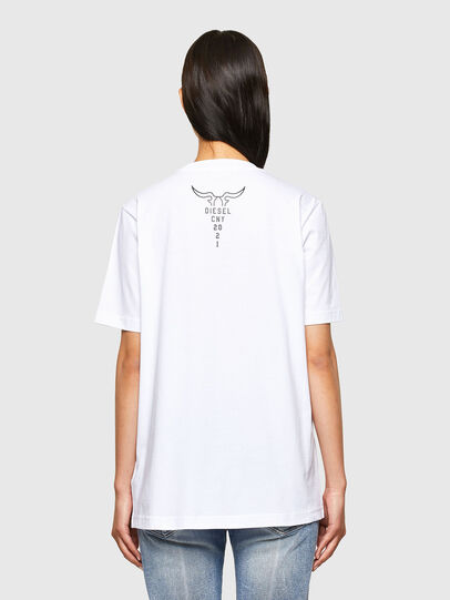 Diesel - CL-T-JUST-O, Blanc - T-Shirts - Image 4