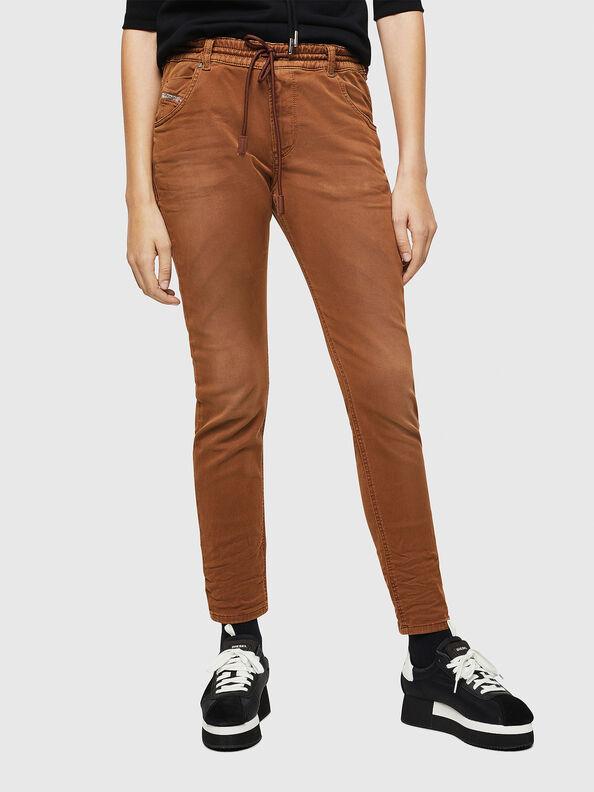 Krailey JoggJeans 0670M, Brown - Jeans