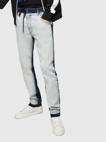 Diesel - Krooley JoggJeans 0870R, Medium Blue - Jeans - Image 1