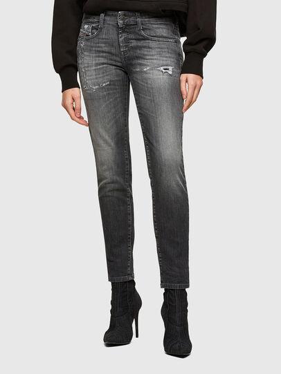 Diesel - D-Ollies JoggJeans® 009QT, Noir/Gris foncé - Jeans - Image 1