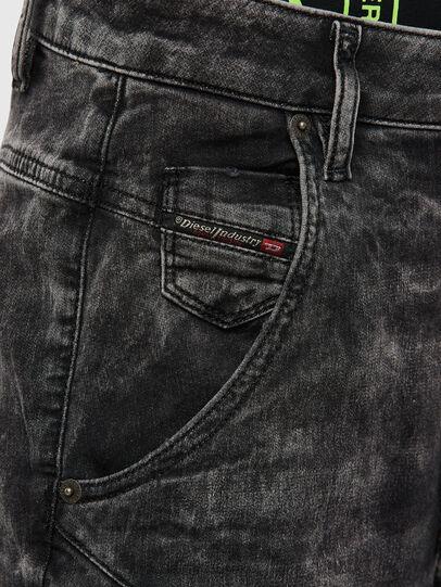 Diesel - FAYZA JoggJeans® 009FZ, Noir/Gris foncé - Jeans - Image 3