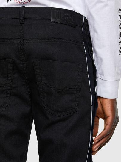 Diesel - Krooley JoggJeans 0KAYO, Noir/Gris foncé - Jeans - Image 5