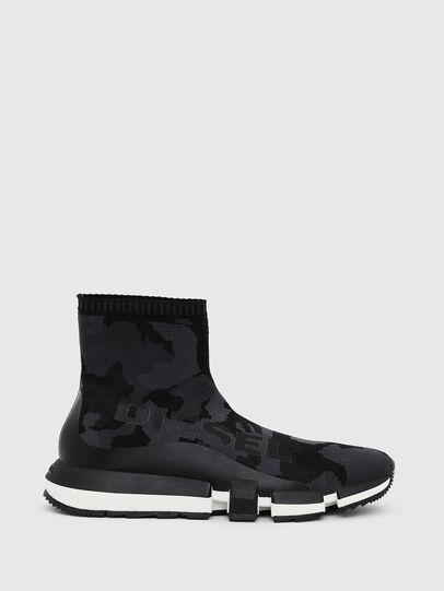 Diesel - H-PADOLA HIGH SOCK, Noir - Sneaker - Image 1