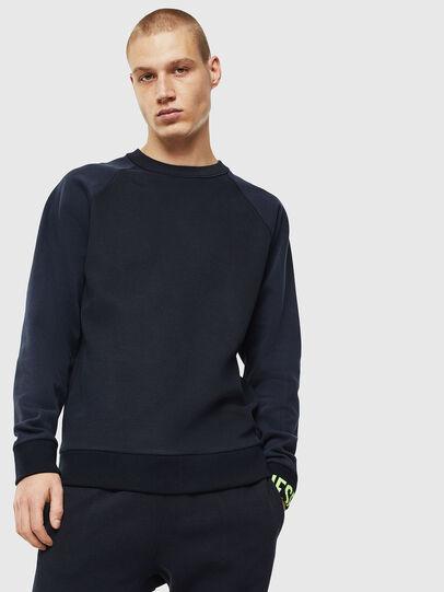 Diesel - S-KOBLER, Dark Blue - Sweatshirts - Image 1