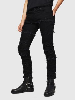 TYPE-2813-X, Noir - Jeans