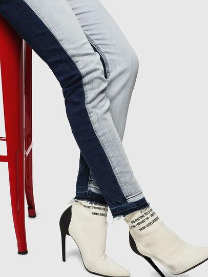 Diesel - Krailey JoggJeans 0870R, Bleu moyen - Jeans - Image 4