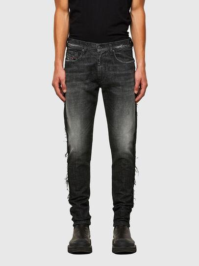 Diesel - D-Strukt 009HY, Noir/Gris foncé - Jeans - Image 1