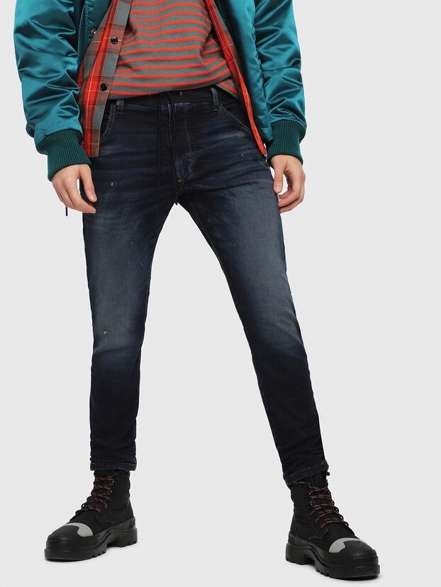 Krooley JoggJeans 069DQ, Bleu Foncé - Jeans