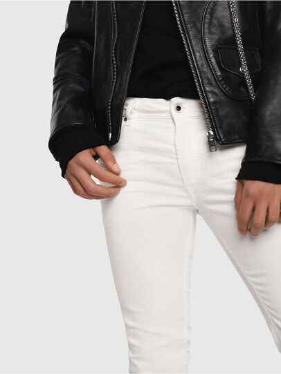 Diesel - Sleenker 084CY, Blanc - Jeans - Image 3