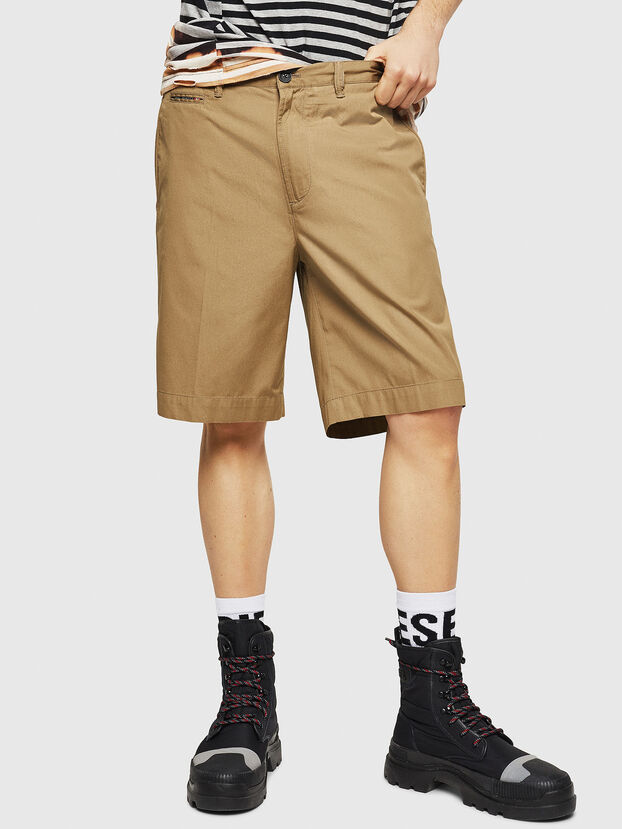 P-WHOLSHO, Dark Beige - Shorts