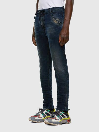 Diesel - Krooley JoggJeans 069NP, Bleu Foncé - Jeans - Image 8
