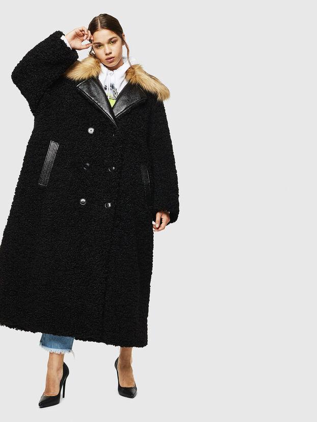 L-ASC, Black - Leather jackets