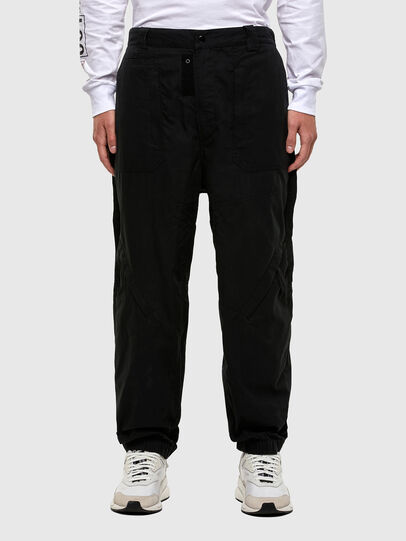 Diesel - P-JARROD, Noir - Pantalons - Image 1