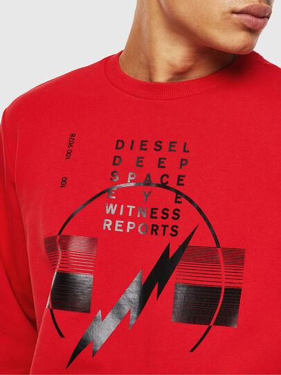 Diesel - S-GIRK-J2, Red - Sweatshirts - Image 3