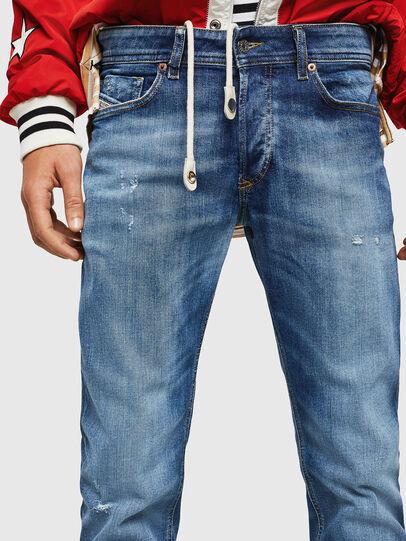 Diesel - Sleenker 069FY, Bleu moyen - Jeans - Image 3