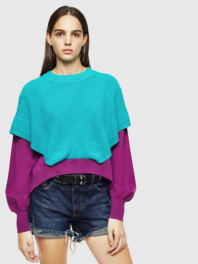 Diesel - M-NEXY, Multicolore - Pull Maille - Image 1