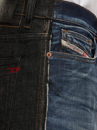 Diesel - D-Vider 009GR, Noir/Gris foncé - Jeans - Image 4