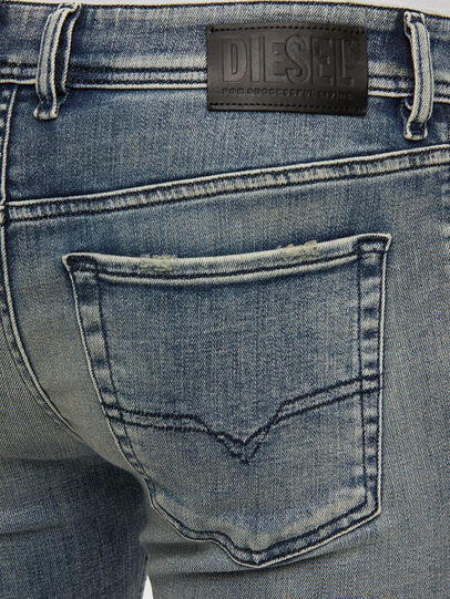 Diesel - Sleenker 009KL, Bleu moyen - Jeans - Image 4