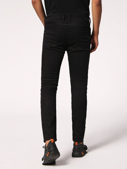Diesel - Bakari JoggJeans 0678E, Black/Dark Grey - Jeans - Image 2