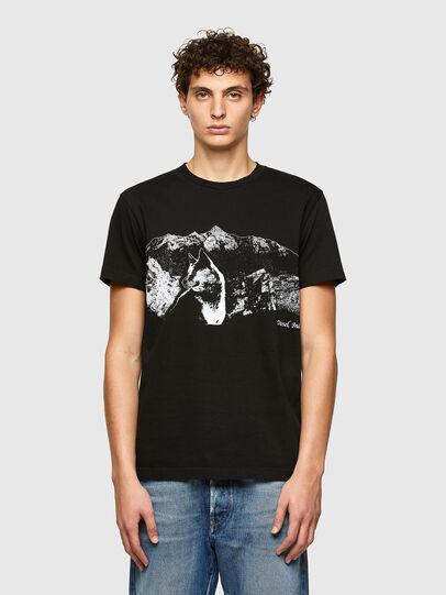 Diesel - T-DIEGOS-A7, Noir - T-Shirts - Image 1