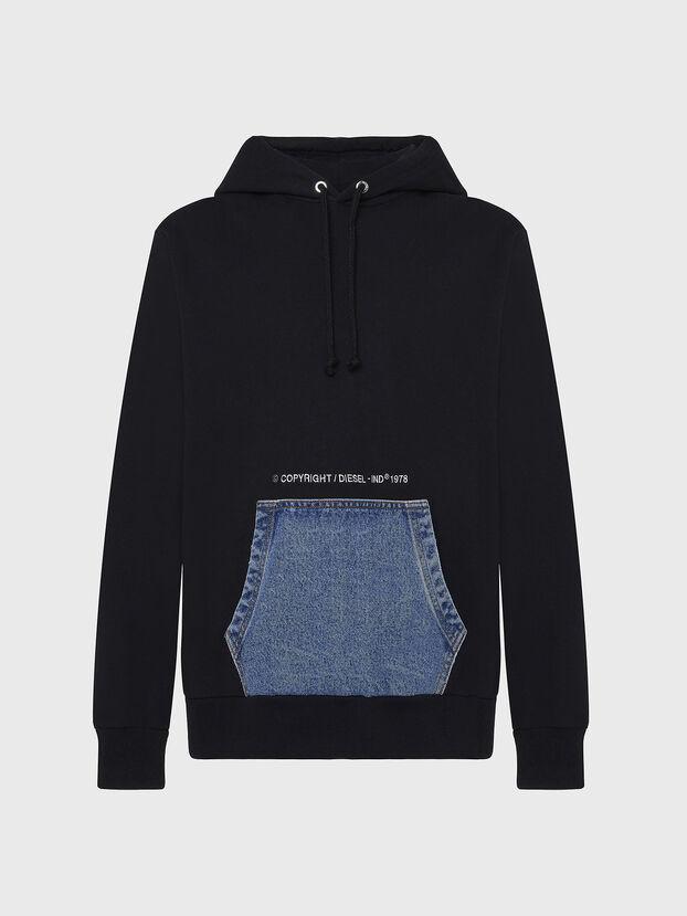 S-THOS, Black - Sweatshirts