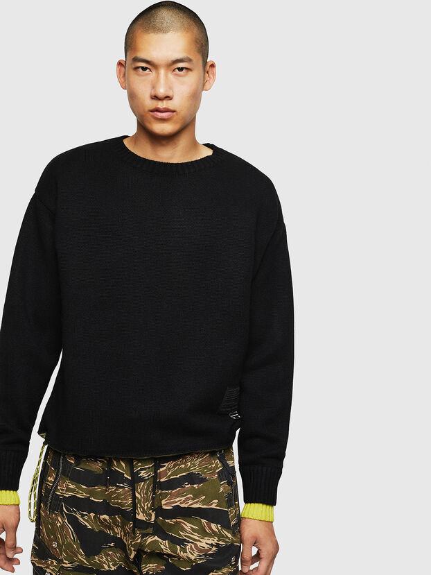 K-PILOT, Black - Sweaters