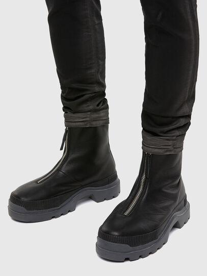 Diesel - D-Strukt JoggJeans 069QX, Black/Dark Grey - Jeans - Image 5