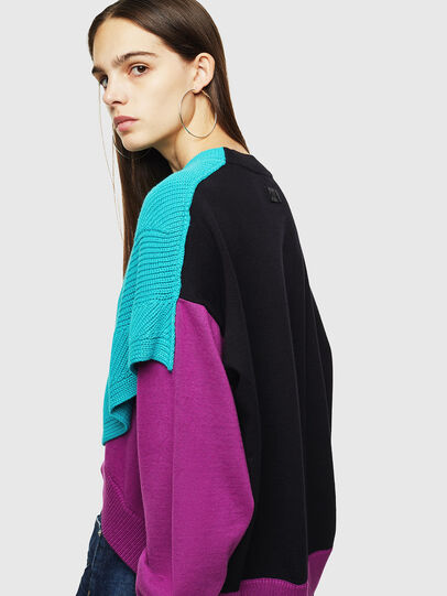 Diesel - M-NEXY, Multicolore - Pull Maille - Image 3