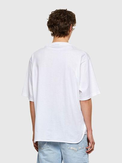 Diesel - T-DELPHONE, Blanc - T-Shirts - Image 2