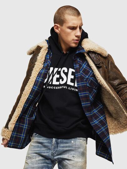 Diesel - S-TOLSTOJ, Bleu - Chemises - Image 4