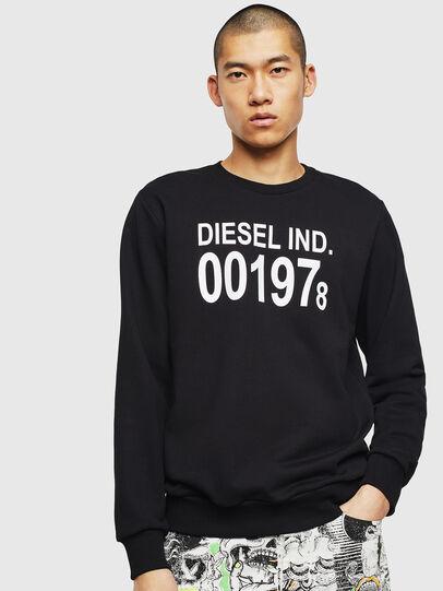 Diesel - S-GIRK-J3, Black - Sweatshirts - Image 1