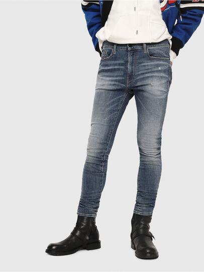 Diesel - D-Amny 086AN, Bleu moyen - Jeans - Image 1