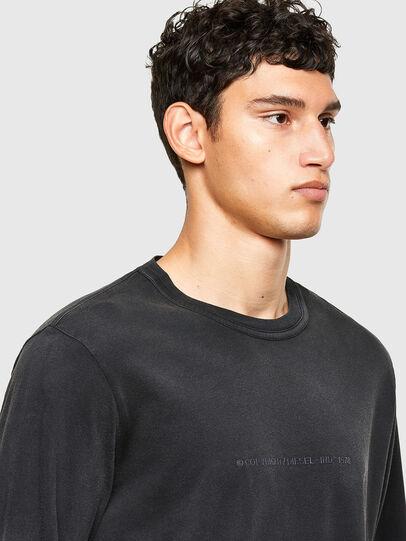 Diesel - T-JUBIND-LS, Noir - T-Shirts - Image 3