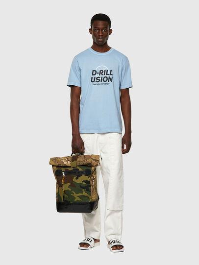 Diesel - T-JUBINDY, Bleu Clair - T-Shirts - Image 4