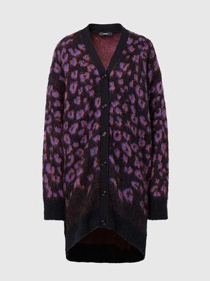 M-REBECCA, Violet/Black - Sweaters